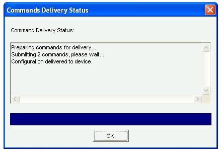 CCP NTP Delivery status