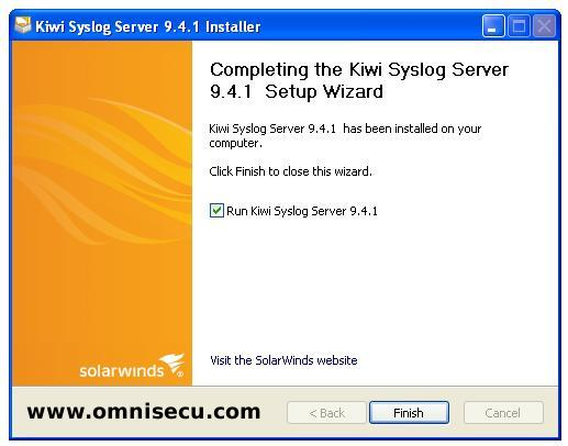 How to install and configure Kiwi Syslog Server for Cisco