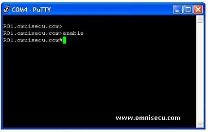 How to use PuTTY Terminal Emulator to configure, monitor or