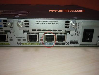 Router Console Port
