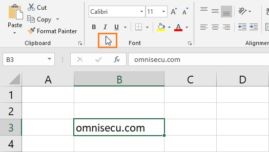 Excel Arrow mouse pointer