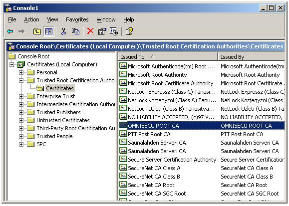 Import Root Certificate to Trusted Root CA store - Locate the Root CA certificate