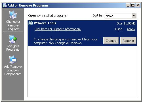 Installing Enterprise Subordinate Certificate Authority - Add Remove Programs