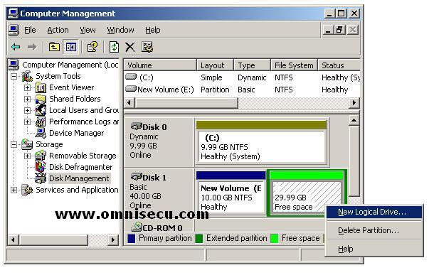 how to create partition on a emmc disk