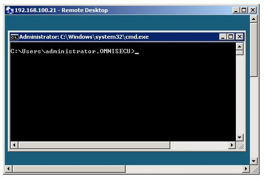 Connecting to server core using remote desktop